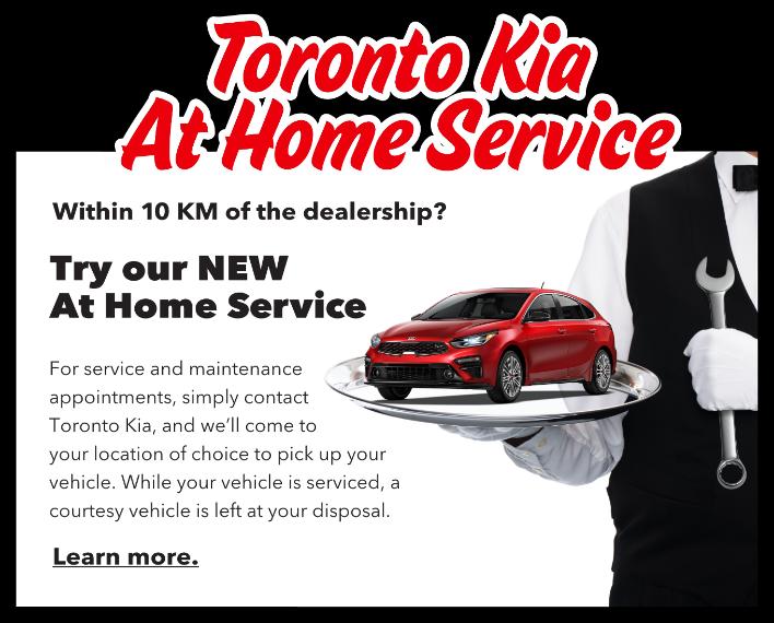 Toronto Kia at Home Service