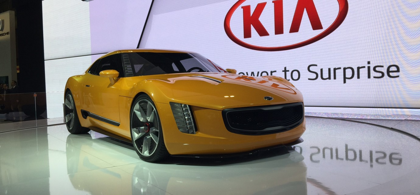 Gt4 Stinger Was Conceived By The Gearheads In Kia S Irvine Calif Design Studio Birthplace Of Iconic Concept Vehicles Such As Track Ster And Cross