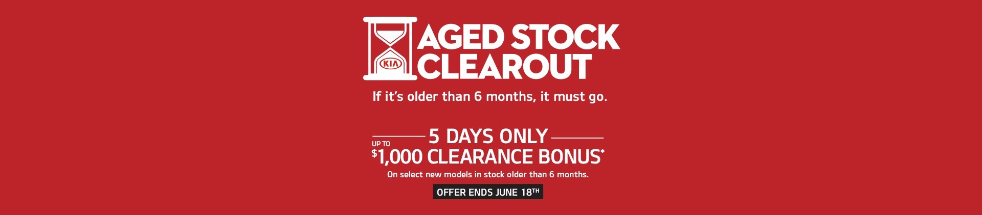 Aged Stock Clearout