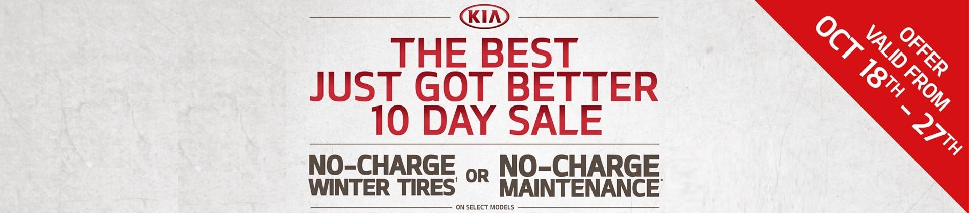 10 Days Sale Banner