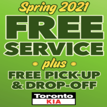 Spring Into Free Service & Pick-Up